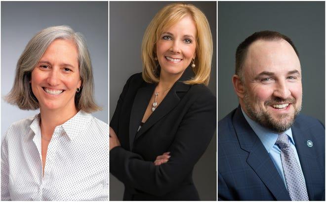 Reno City Council members, from left: Jenny Brekhus, Neoma Jardon, Devon Reese.