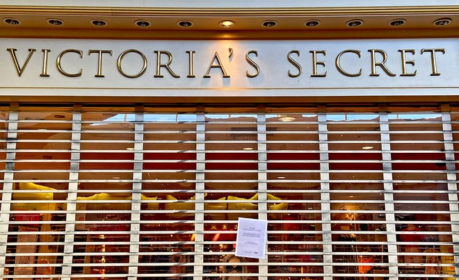 The Victoria's Secret location at the Sunset Mall in San Angelo, seen here in this Wednesday, June 10, 2020 photo, will be closing.