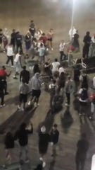 A photo provide June 10 by Ocean City Police shows a brawl on the boardwalk.