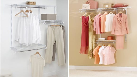 We voted this closet storage organizer as our top pick.