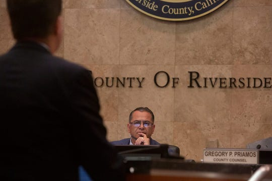 Riverside County Supervisor V. Manuel Perez failed to search out red meat up amongst his colleagues to birth a evaluate of the Riverside County Sheriff's Division policies.