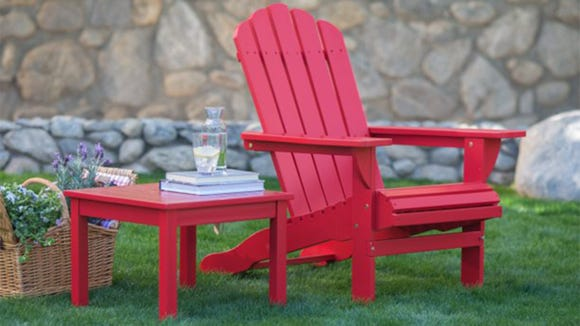 Snag this chair for summertime lounging.