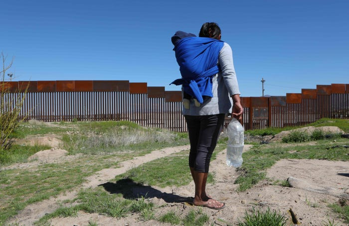 ACLU lawsuit claims Trump administration policy blocking migrants during COVID-19 is illegal