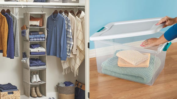 Check out these top storage deals to help maximize space and savings.