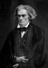 John C. Calhoun photographed in 1849.