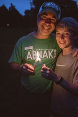 Camp Abnaki director Jon Kuypers laments having to close camp for summer 2020, unable to meet safety guidelines during the pandemic in a way that preserves the camp experience. He is pictured at Camp Abnaki with his son, Peter.