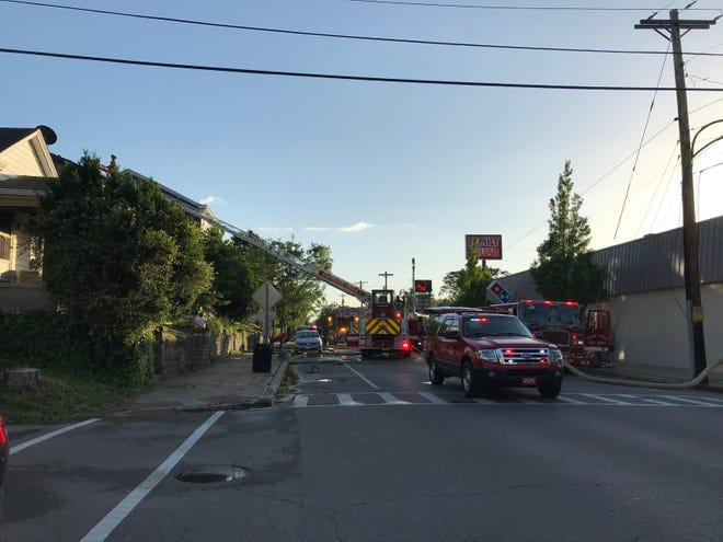 Firefighters are currently responding to twofires in Ludlow, Kentucky, officials said.
