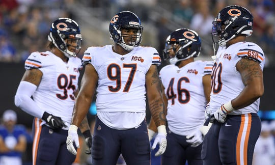 The Lions signed defensive tackle Nick Williams (97) in the offseason.