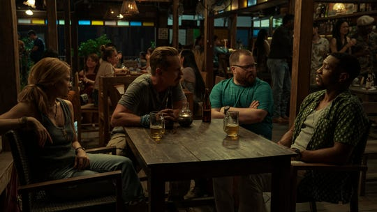 "Mélanie Thierry, Jasper Pääkkönen, Paul Walter Hauser and Jonathan Majors in ""Da 5 Bloods."""