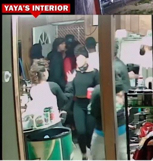 Indoor surveillance video from YaYa's BBQ shows people rushing in just before David McAtee is shot and killed in his doorway.
