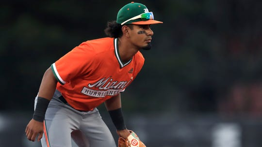 The Brewers selected Miami shortstop Freddy Zamora with the 53rd overall pick in the MLB draft. As a sophomore in 2019, Zamora started 50 games at shortstop and batted .296 with 12 doubles, six homers and 46 runs batted in.