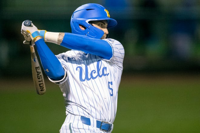 UCLA outfielder Garrett Mitchell  is a speedy outfielder who handles the bat well and is a strong defensive player.