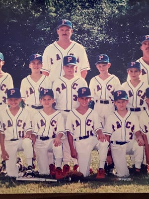 Pace Athletic & Recreation Association's 1995 10u All-Star team featured future MLB players in Bobby Cassevah (back row, first from left), P.J. Walters (back row, fifth from left) and Josh Donaldson (front row, second from left).