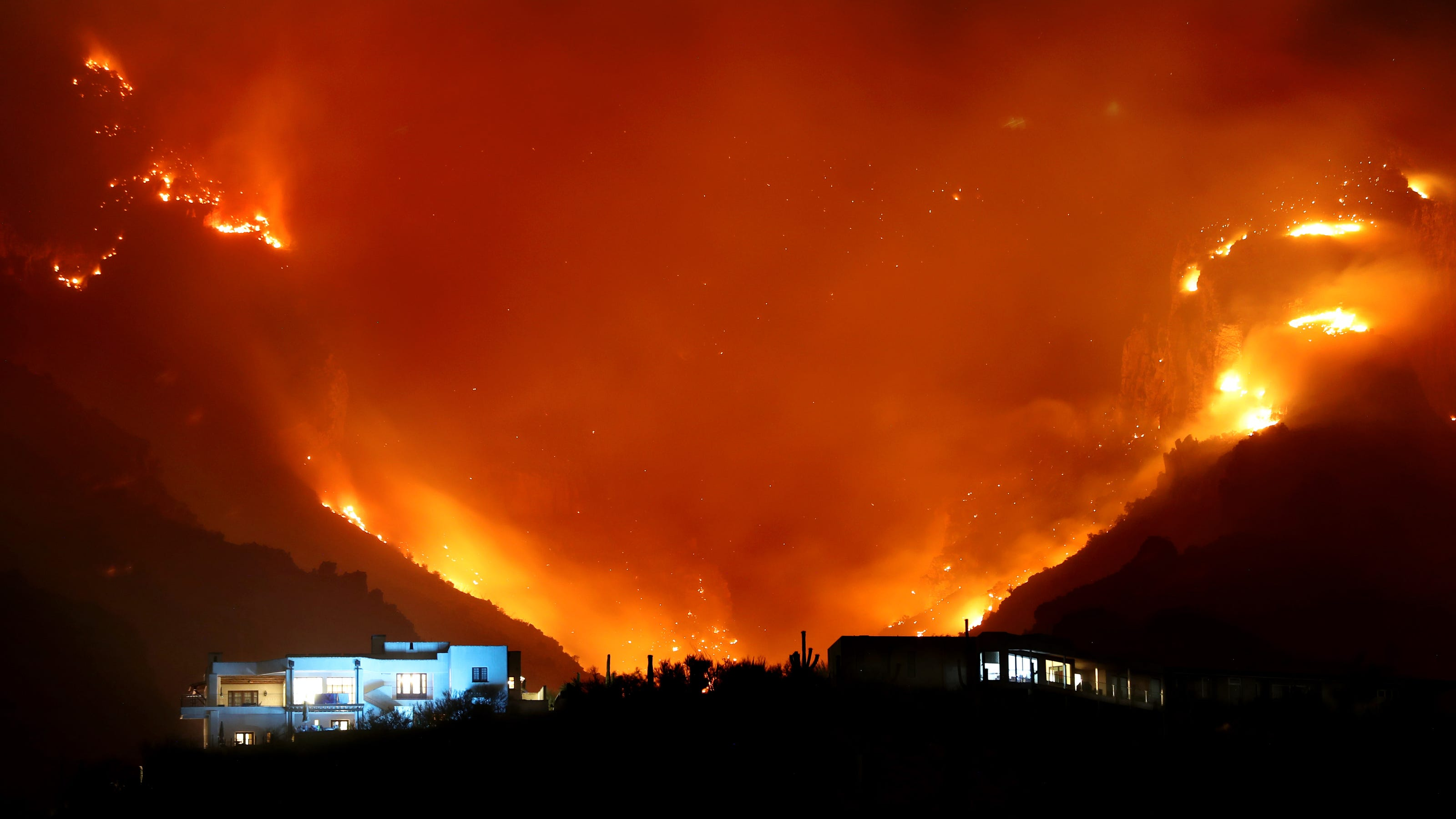 Large fire in Ellesmere Port