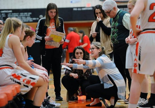 After 4 seasons at the helm, including a 5A district championship run in 2018-19, Mary Manlove is stepping down as the Palmyra girls basketball coach.
