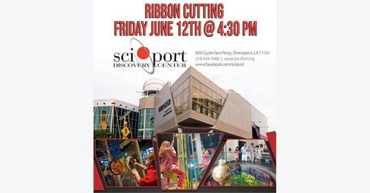 Sciport ribbon cutting is Friday