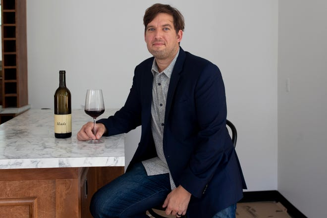 Hummingbird Wine Bar Owner Greg Hajcak has a vision to create a cultural home for residents to appreciate and explore a range of wines at the new Midtown attraction which does not have a set grand opening date yet.