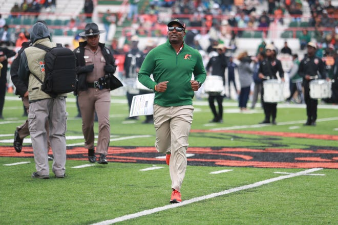 FAMU football coach Willie Simmons begins his third season with the Rattlers in 2020.