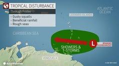 Tropical wave 2 p.m. June 11, 2020