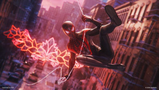 A scene from 'Marvel's Spider-Man: Miles Morales'