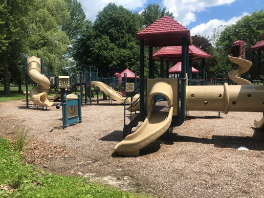 Like all Broome County Parks, Otsiningo Park's playground opened up after the COVID-19 shutdowns on June 12, 2020.