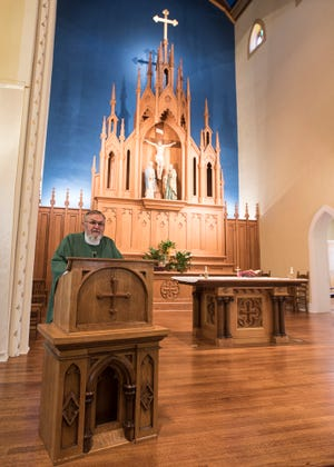 Father Lawrence Hummer from St. Mary's Church announced he would be retiring after nearly 50 years in a career devoted to God and spreading his word.