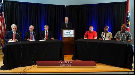 Political Forum for Highway Supervisor candidates.
