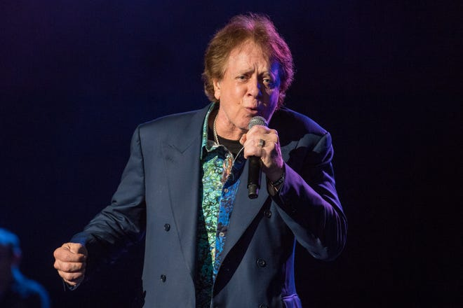 Eddie Money performing at DTE Energy Music Theatre on May 28, 2018. The concert will be webcast as part of the venue's Virtual Summer Opening Party.