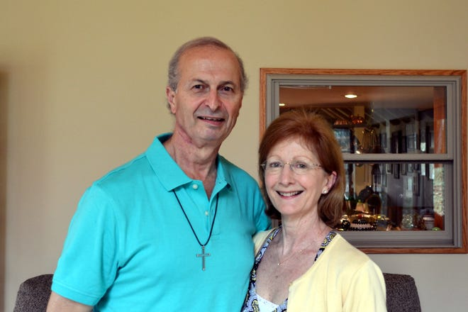 Ken Godin and his wife Peggy relocated to Detroit for six weeks so Ken could receive crucial radiation therapy for tongue cancer at Henry Ford Hospital.