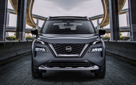 Nissan Rogue front