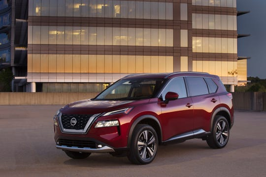 The redesigned 2021 Nissan Rogue.