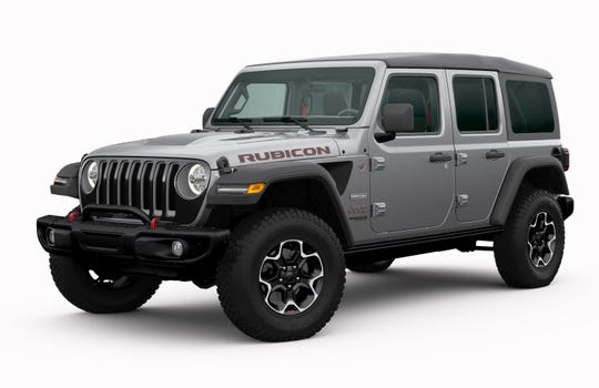 Fiat Chrysler said its Jeep Wrangler, pictured here, was copied by Mahindra for its off-road Roxor model.