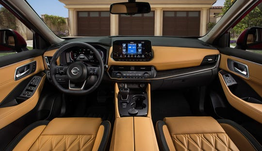 A suite of driver-assist systems is standard on the new Nissan Rogue.