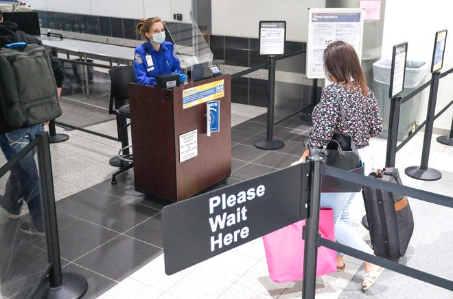 The TSA PreCheck screening program offers an expedited process at the airport.