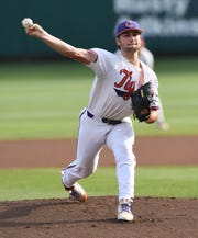 Clemson's Spencer Strider (29) has been selected by the Atlanta Braves in the fourth round of the 2020 MLB draft.