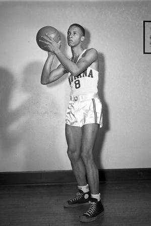 IU's Bill Garrett was the first Black player in the Big Ten.