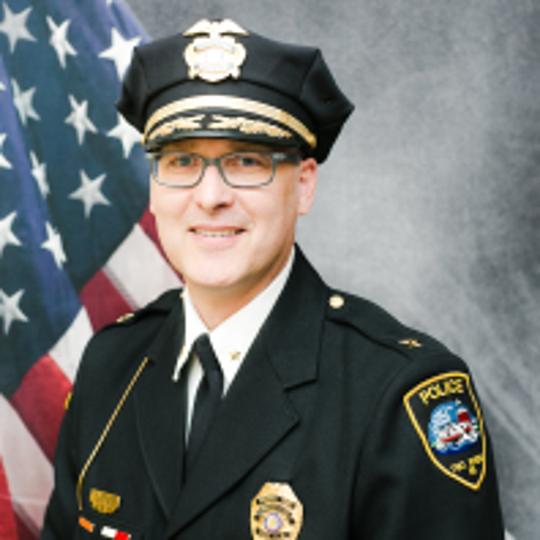 Two Rivers Police Chief Brian Kohlmeier
