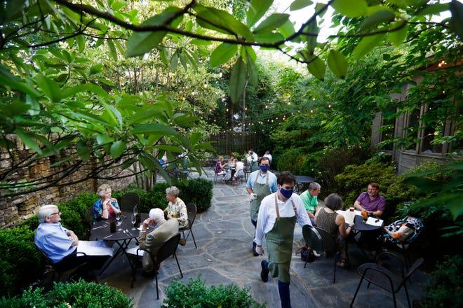 Acre outdoor patio on a balmy spring night Thursday, June 11, 2020.