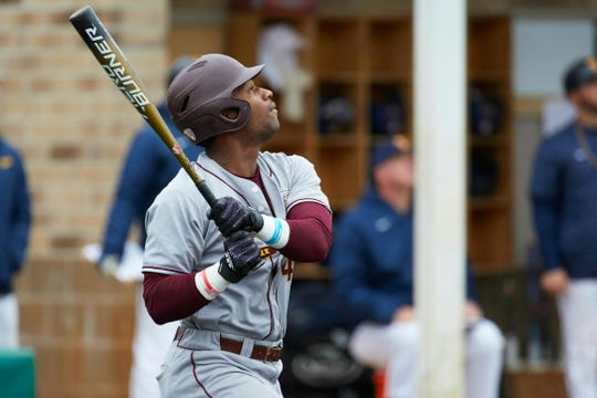 Zavier Warren out of Central Michigan, who the Brewers selected with the 92nd pick in the draft, hit .369 with eight homers, a program-record 23 doubles and 70 RBI in 2019.