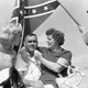 "Darlington Raceway's ""Johnny Reb"" character waves the Confederate flag over 1962 Southern 500 race winner Junior Johnson. The rebel flag runs deep in NASCAR's history, but the organization banned the flag from all of its events Wednesday, June 10, 2020."
