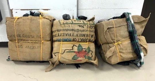 U.S. Border Patrol agents assigned to the Deming Station seized 130 pounds of marijuana with an estimated street value to $105,000.