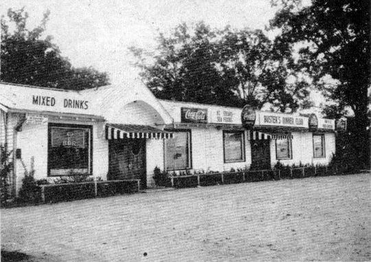 Buster's Dinner Club on the Washington Road was a favorite dining place for local folks and visitors to Opelousas during the 1940s.