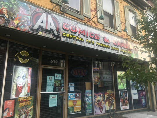 AA Comics and Cards in Lebanon. Owner Paul Zerman said in a normal year, May is his best month.