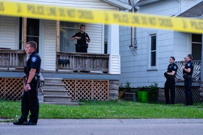 Port Huron police are investigating a reported shooting in the 800 block of 11th Street Thursday, June 11, 2020, in Port Huron. A 16-year-old was reportedly shot in the leg and transported to a local hospital.