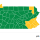 By June 19, 54 counties will be in the green phase.