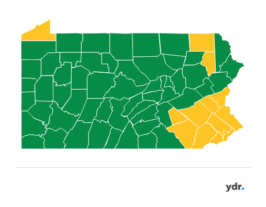 Coronavirus In Pa Eight More Counties Moving To Green Phase