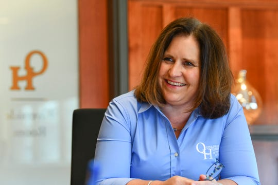 Attorney Dyan Ebert talks about her upcoming role as the Minnesota State Bar Association president during an interview Friday, June 12, 2020, at Quinlivan & Hughes in St. Cloud.