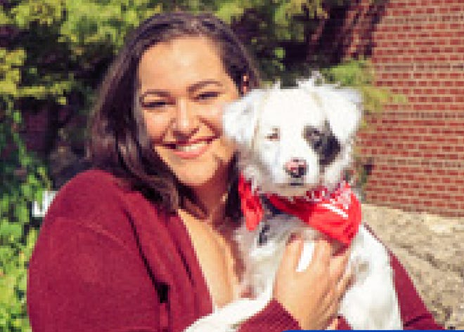 """Stephanie Tracy with Brave Blond Productions is teaming with Animal Shelter Foundation for social distancing event, """"Front Porch Photo Sessions"""" to create pet portraits with people."""
