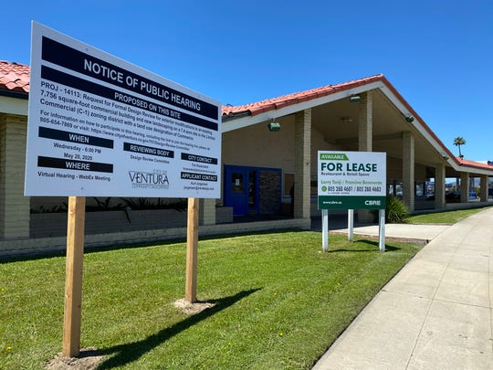 A portion of the former Carrows restaurant building on Harbor Boulevard in Ventura has been identified as the future home of Black Bear Diner.