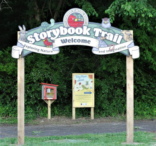A new Storybook Trail is open at Dillon State Park. Storybook Trails present children's books in a series of child-height panels to blend the fun of outdoor exploration with reading.
